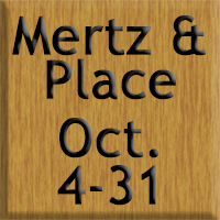 Artists Mertz and Place October 2014